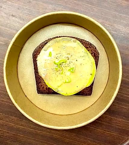 Tuto foie gras pain d'épices